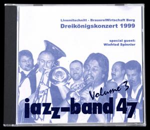 Jazzband 47 CD - Livemitschnitt 1999