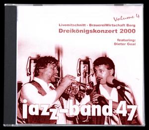 Jazzband 47 CD - Livemitschnitt 2000