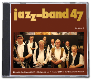 Jazzband 47 CD -  Livemitschnitt 2014